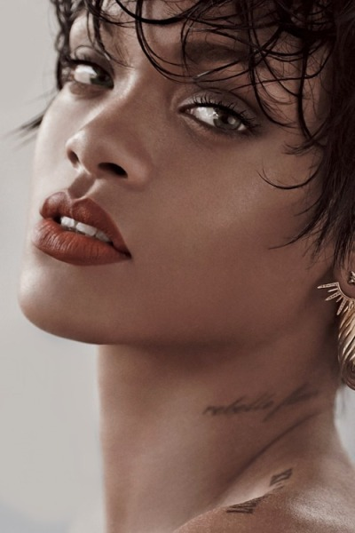 Rihanna on cover of vogue brazil