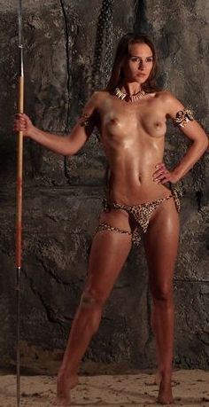 Nude amazon warrior women