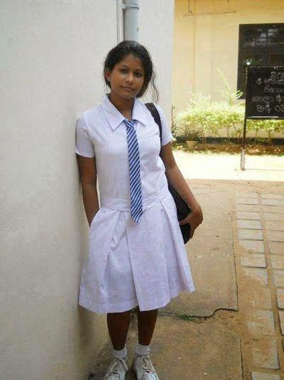 Srilankan girl sex uniform