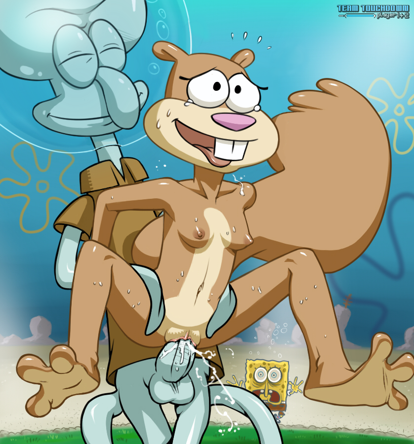 Sandy cheeks sexy nudes