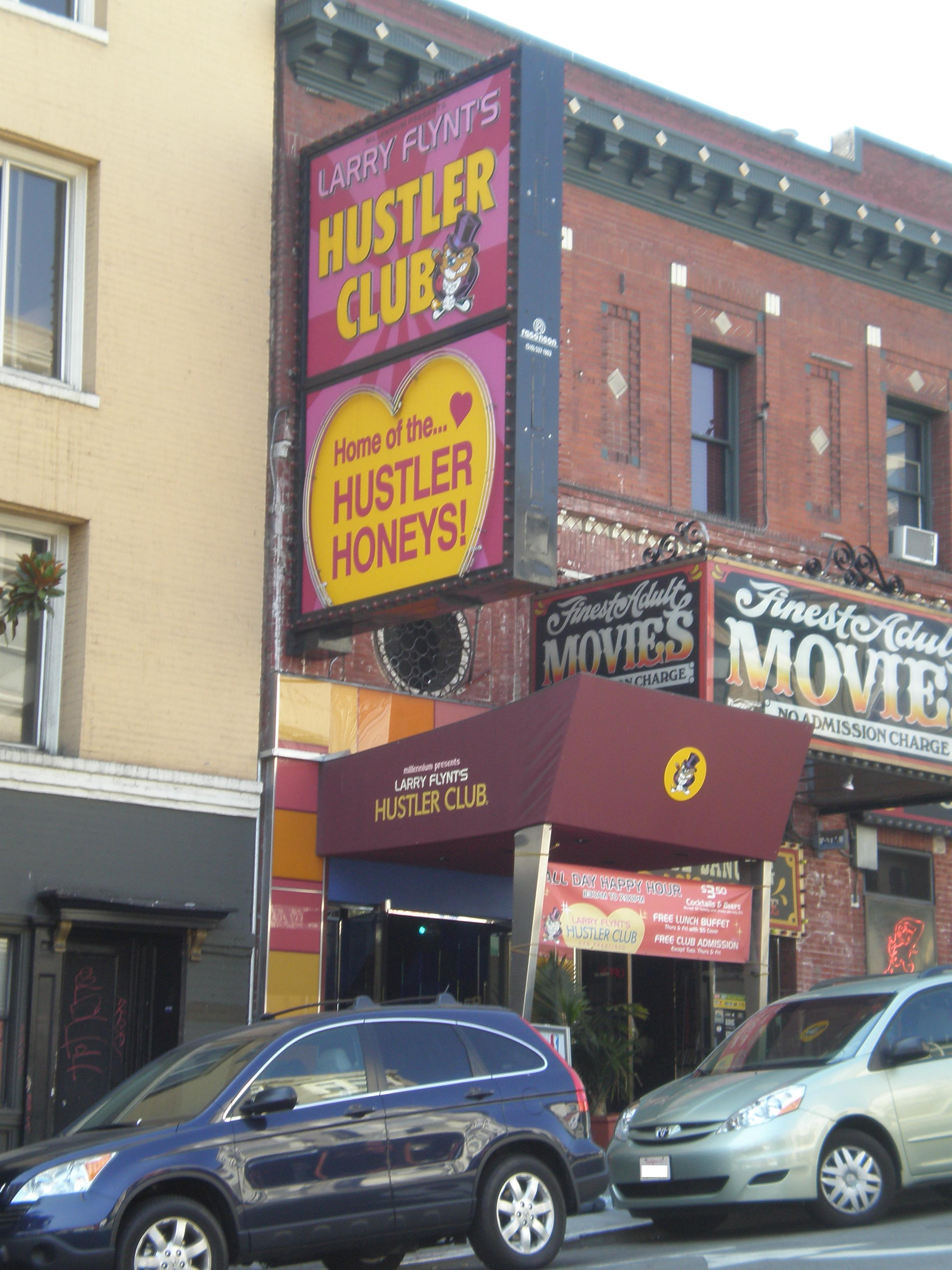 Hustler strip club new york city
