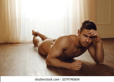Hot nude men in beach
