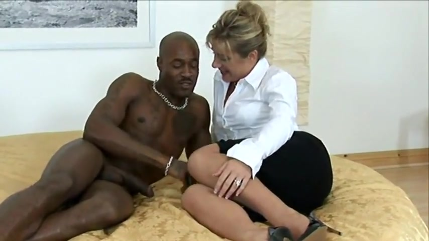 Black stud with milf
