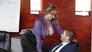 Milf erect nipples mature