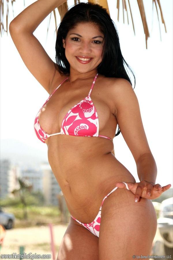 Natalia spice busty latina babe