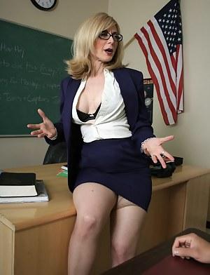 Mature teachers porn pics