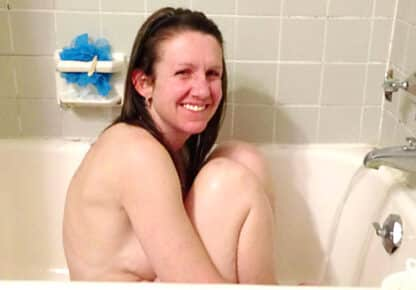 Naked wife tits bathroom