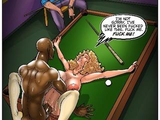 Black and white porn comics