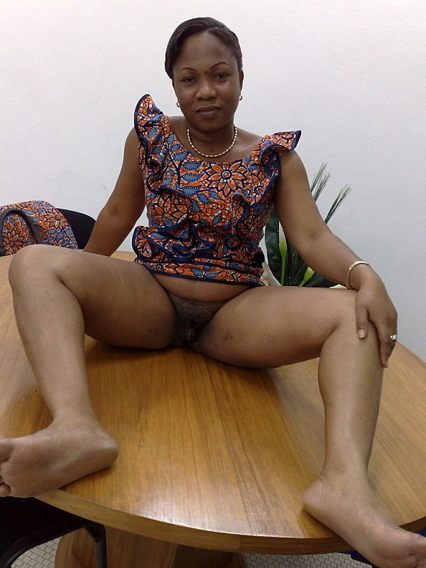 African upskirt hairy pussy