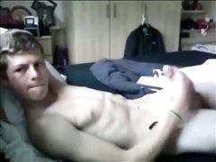 Boy masturbating orgasm video