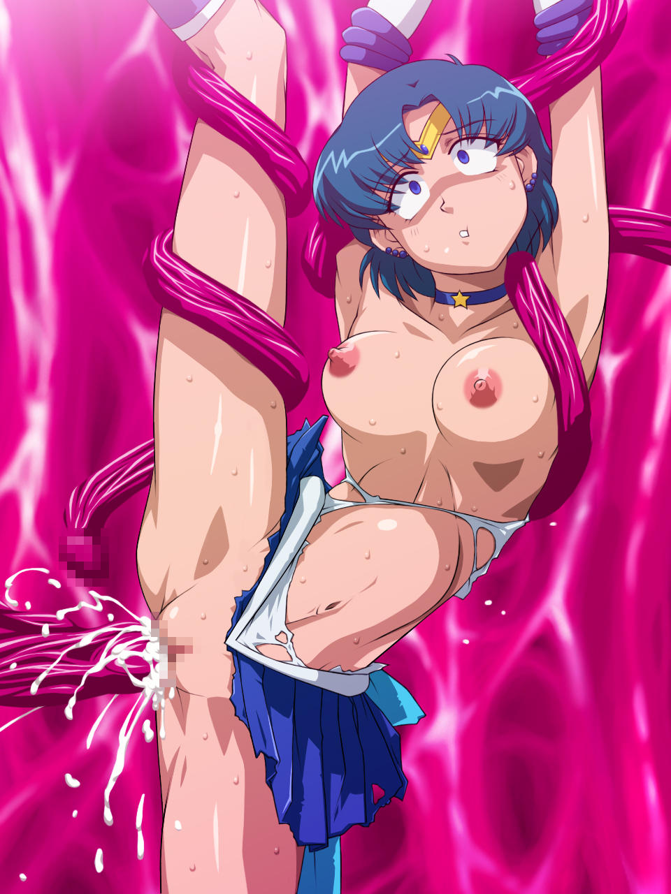 Sailor moon tentacle hentai fucked