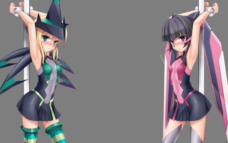 Long black hair anime bondage