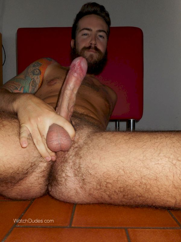 Dick man showing their