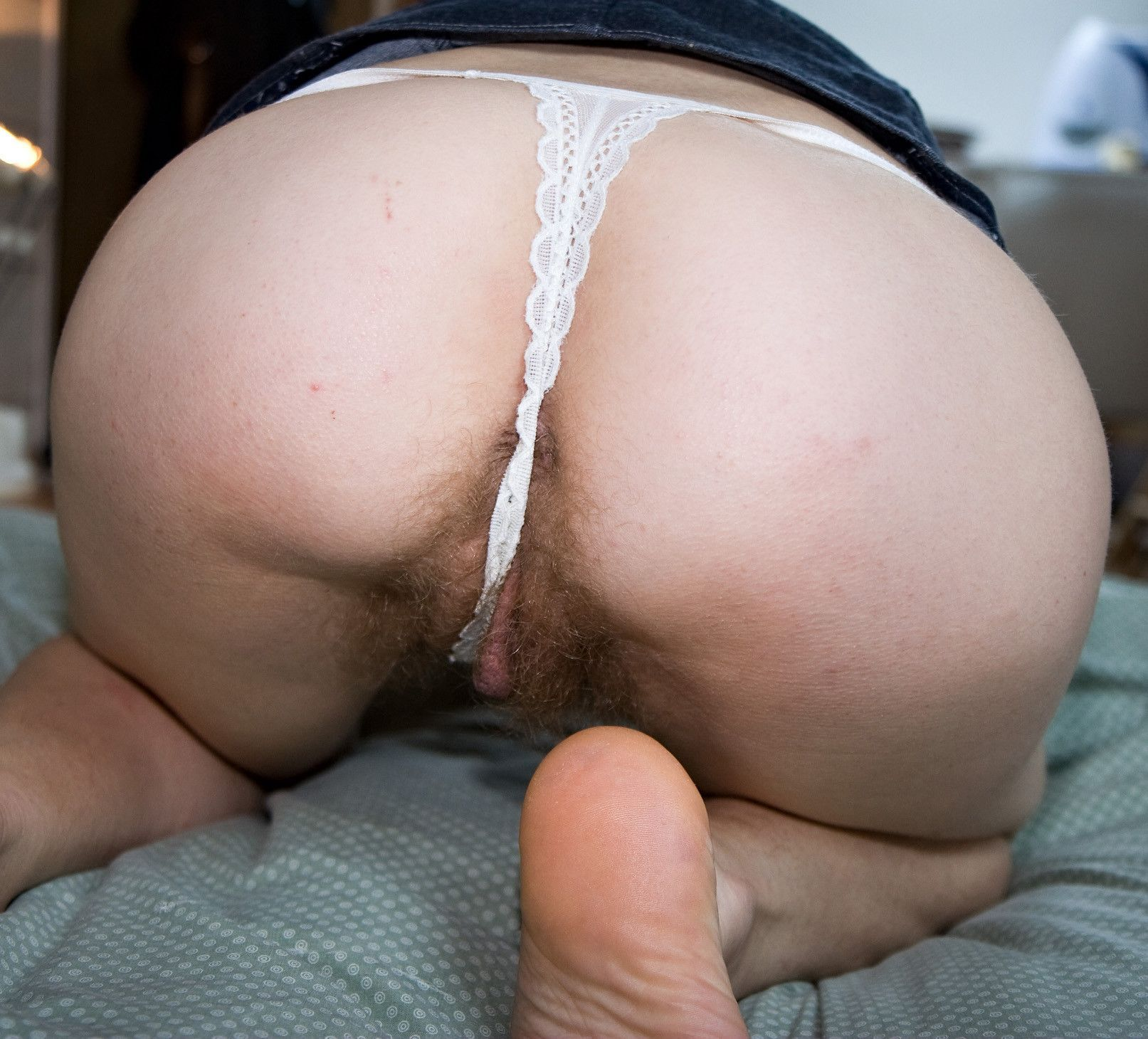 Big pussy butt hairy