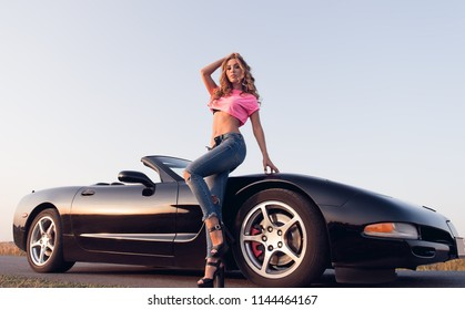 Hot girls with cars