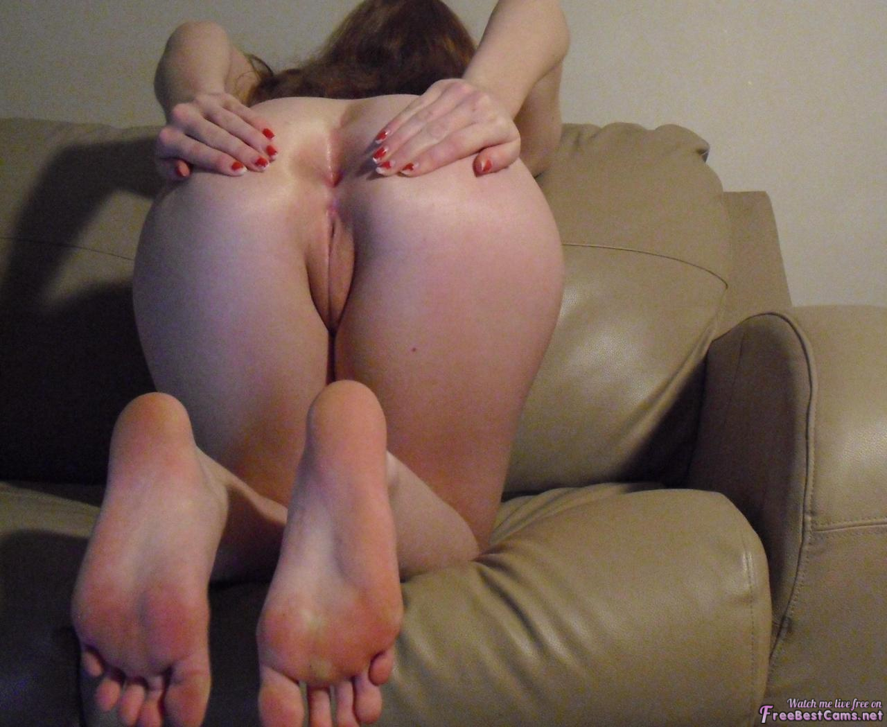 Asshole with soles porn
