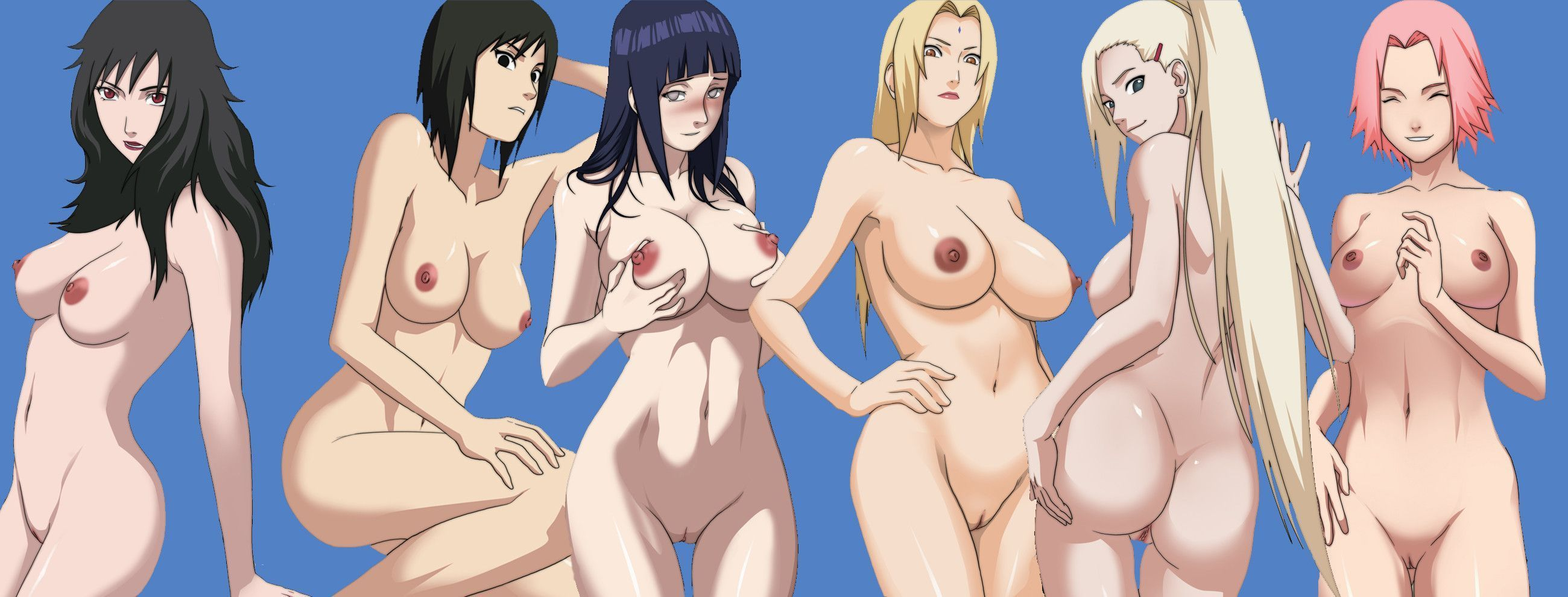 Girl the naruto naked