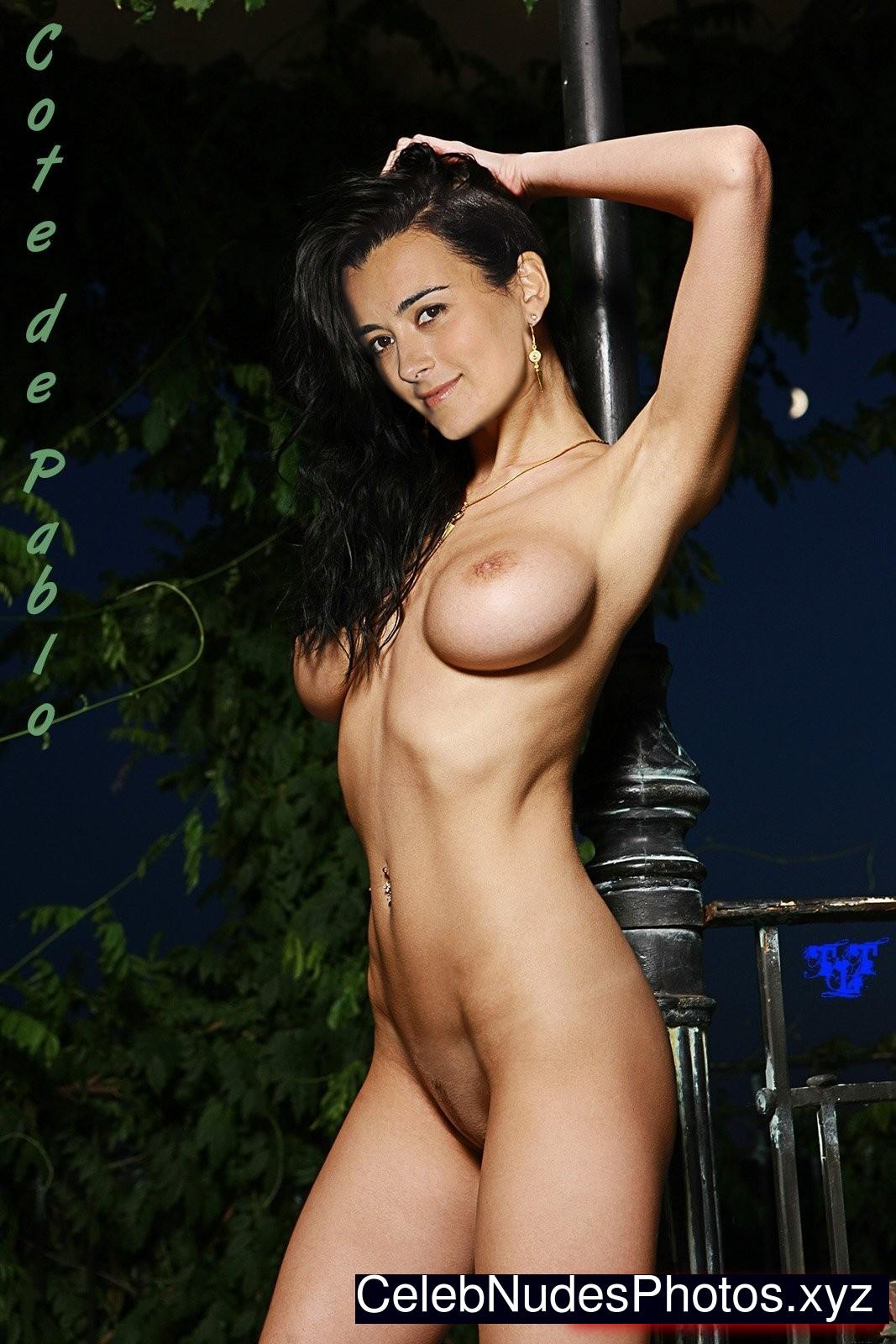 Cote de pablo nude pictues