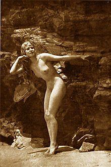 Naturist nudist women vintage nudes