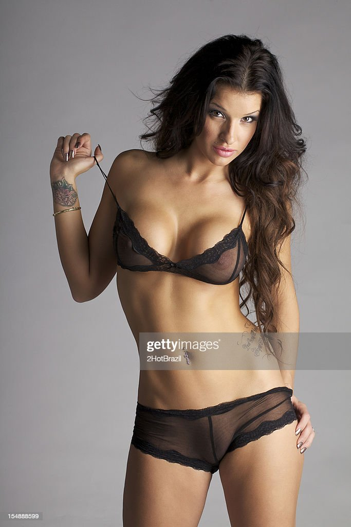 Sexy young lingerie models