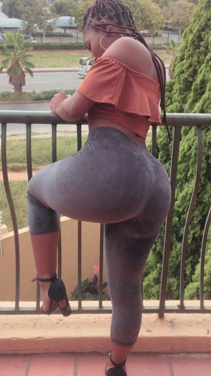 Curvy black woman big ass booty