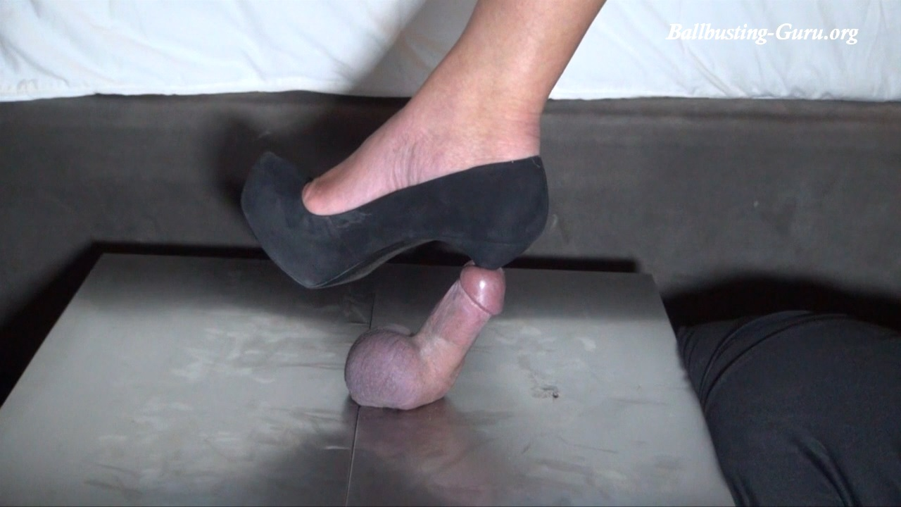 Cock and ball insertion