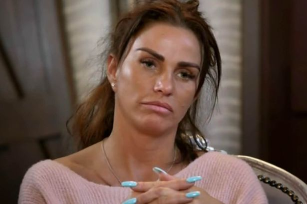 Mags katie price appeared in naked