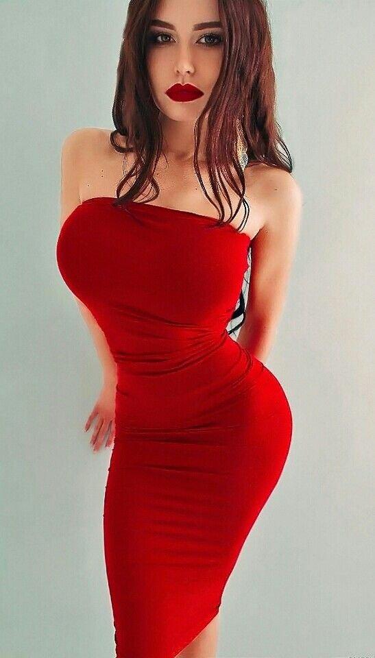 Dress girl big tits