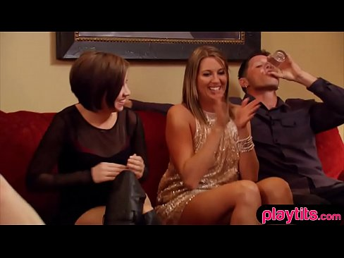 Amateur wife at swingers club