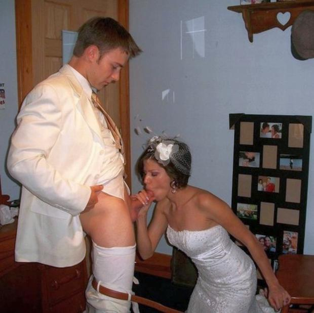 Real amateur wife bride