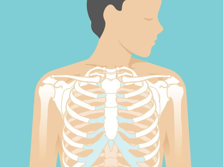Burning behind breast bone