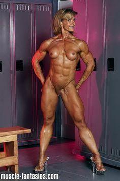 Nude bodybuilder women compteshan