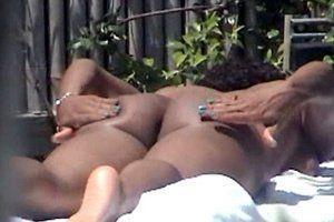 Janet jackson sunbathing nude