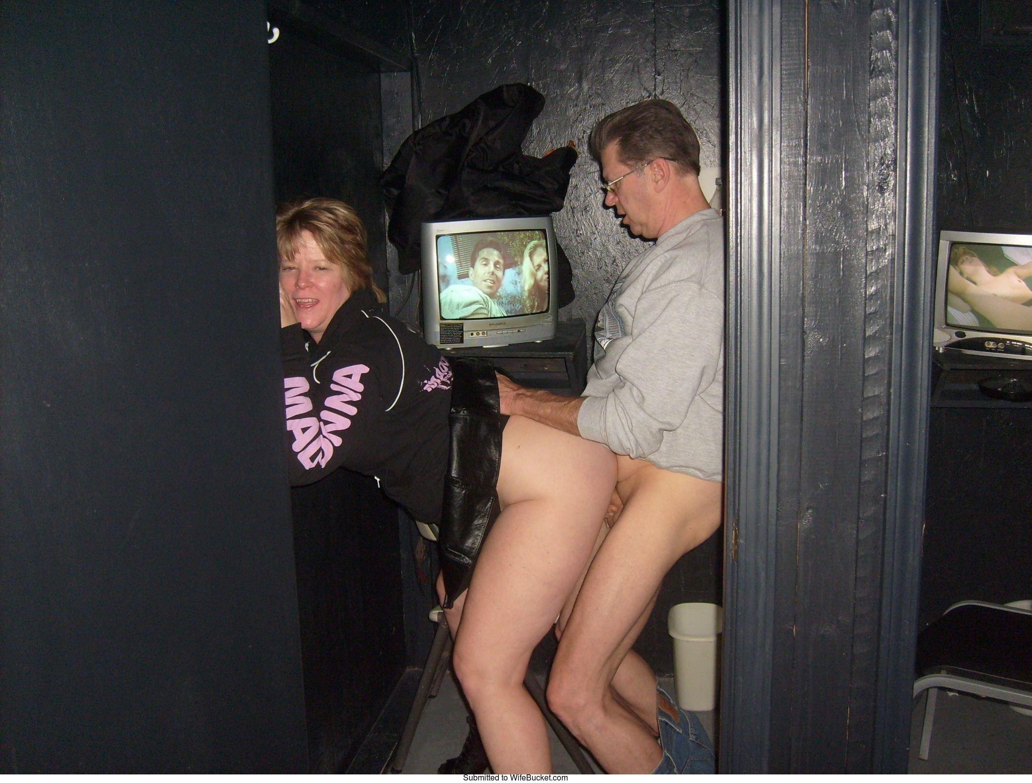 Pornpics. com theater gangbang