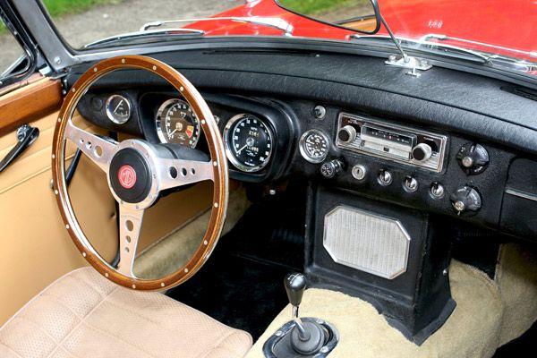 Mg midget steering wheel