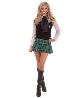 Irish girls in mini skirts