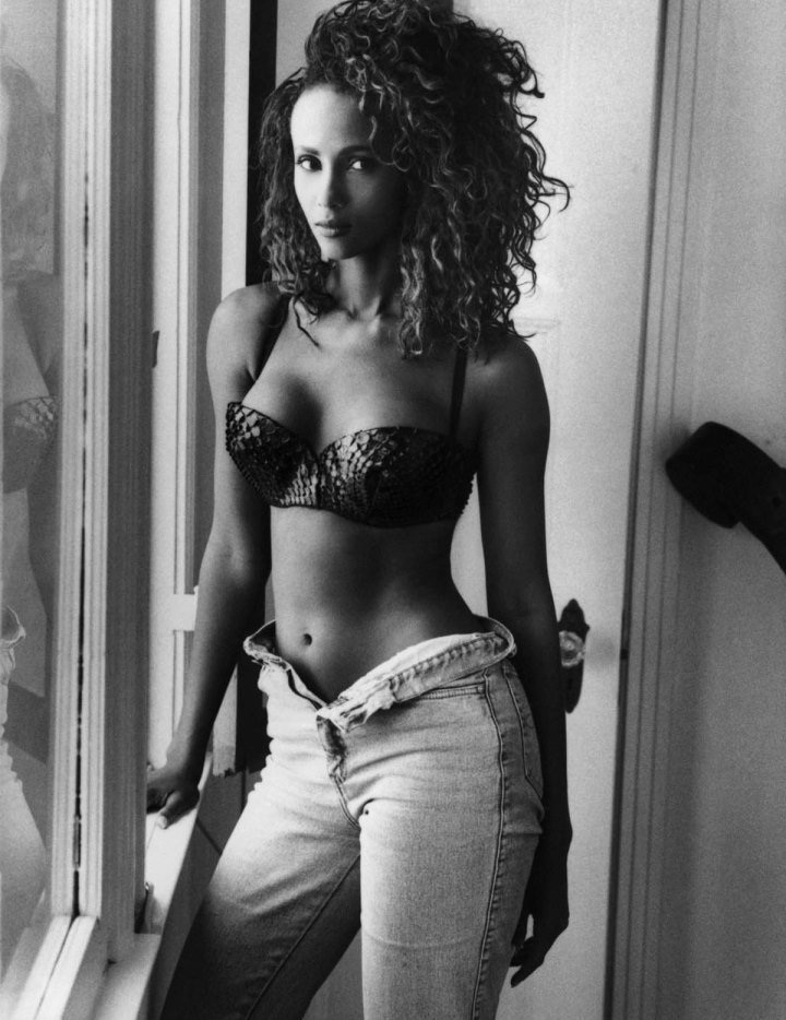 Iman white ass pictures