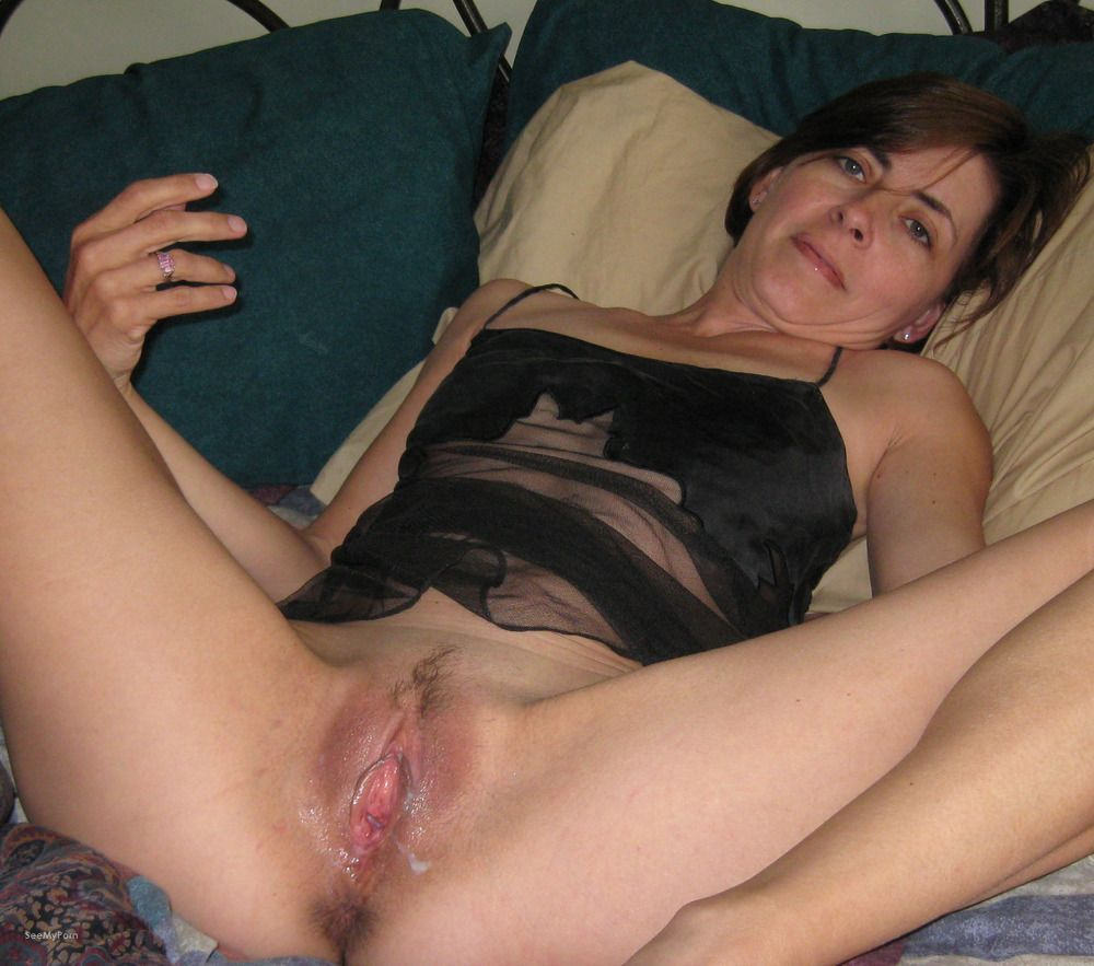 Amateur private mature wife pussy