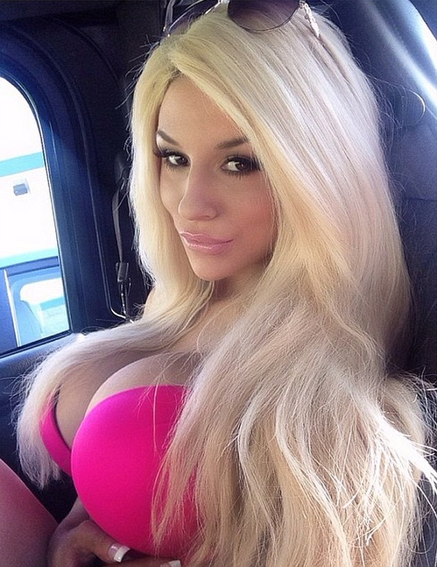 Hot pink bikini girls