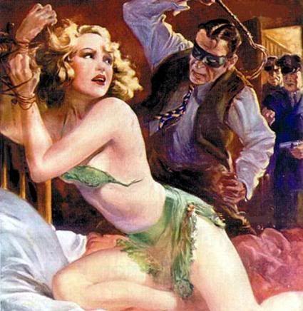 Erotic damsels in distress