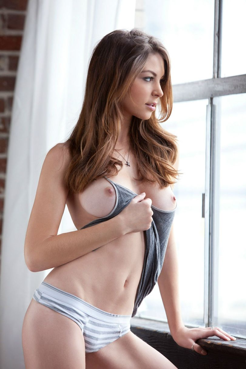Nude girl tank top
