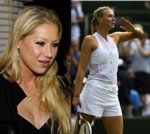 Anna kournikova and maria sharapova