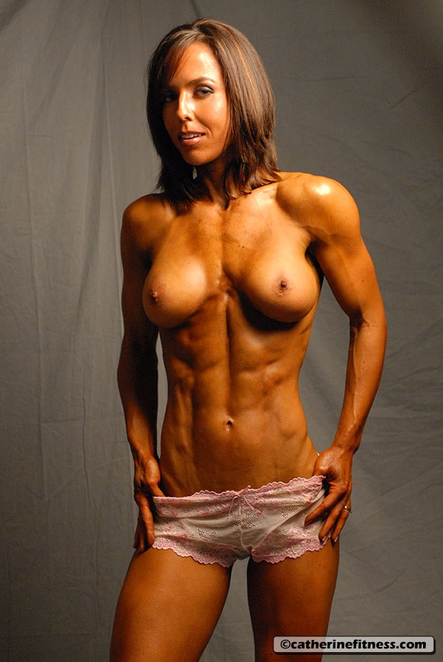 Skinny muscle girl nude