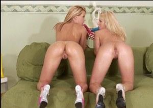 Sexy naughty naked girls twins
