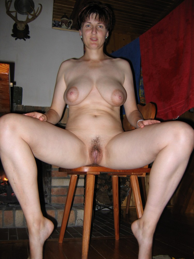 Horny married women naked