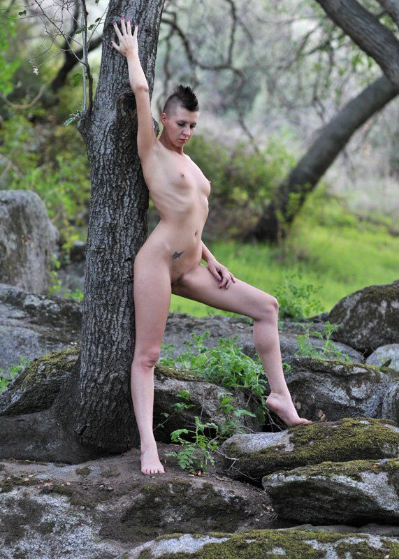 Hot nude girls with mohawks