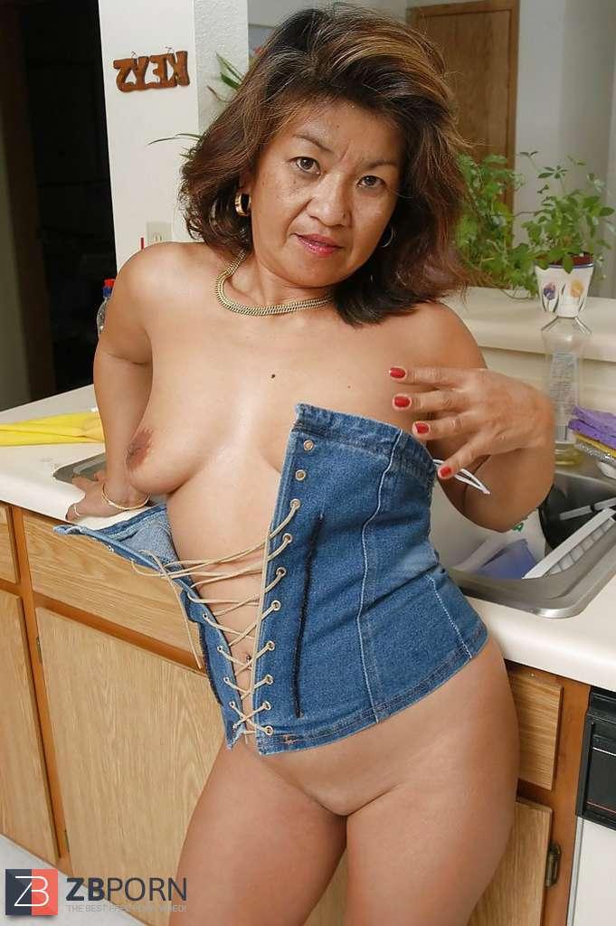 Asian mature saggy tits
