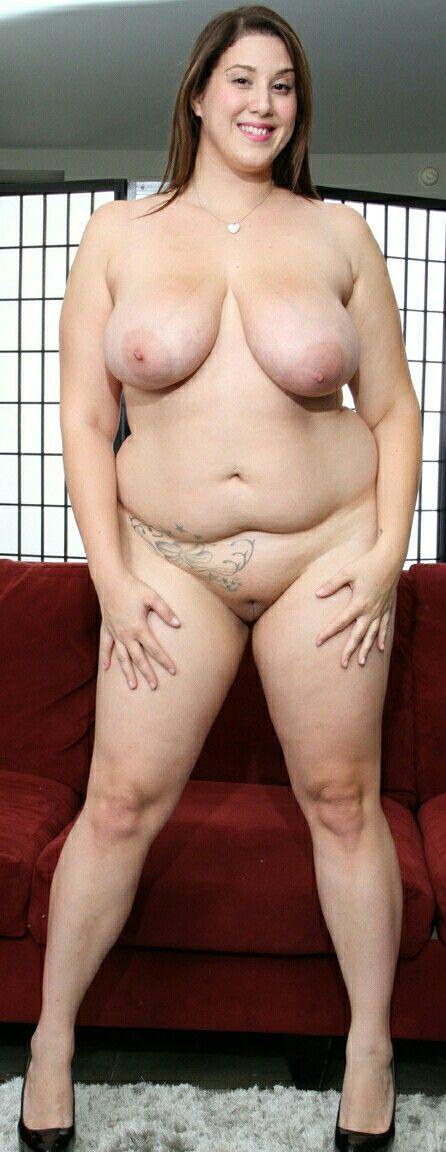 Plus size curvy naked