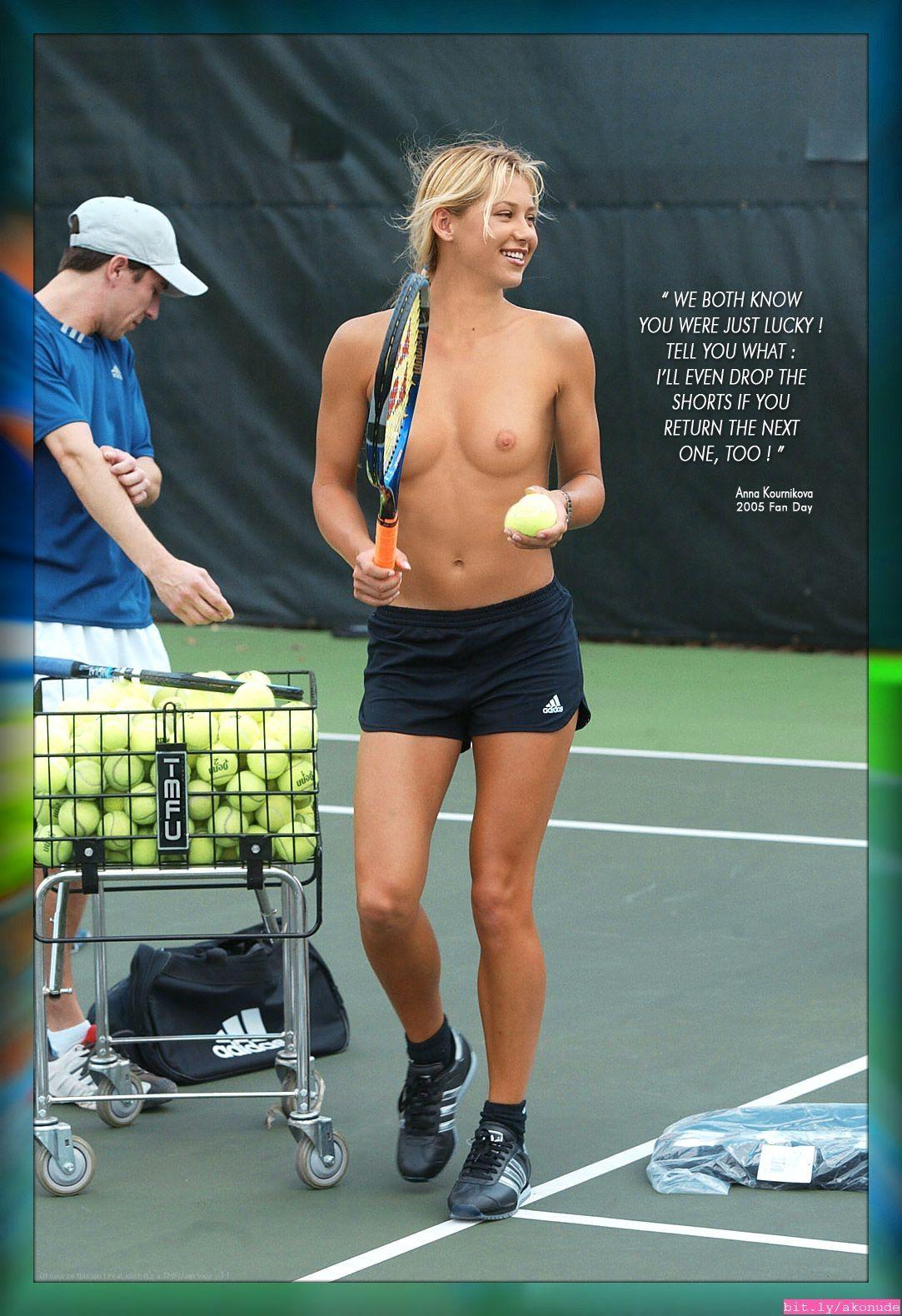 Czech tennis nude girl