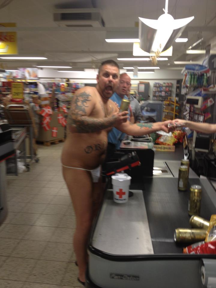 Naked nude people at walmart